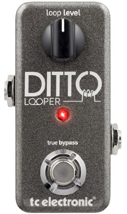 The Ditto is a very small and simple loop pedal