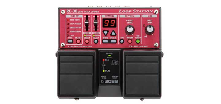 boss rc 30 loop station review guitar gear finder. Black Bedroom Furniture Sets. Home Design Ideas
