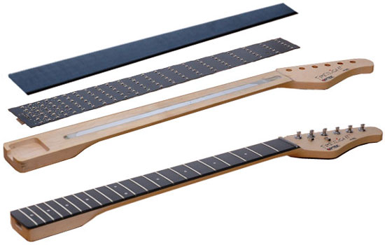 Fretlight neck