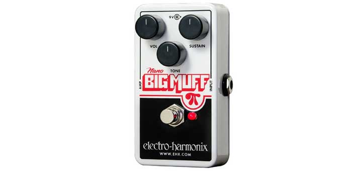electro harmonix nano big muff pi review guitar gear finder. Black Bedroom Furniture Sets. Home Design Ideas