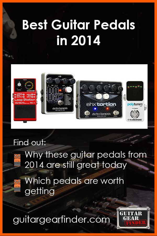 Best Guitar Pedals in 2014