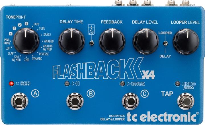 Flashback X4 Delay Pedal
