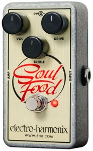 A good overdrive/distortion pedal can be a great alternative to using your amp's drive