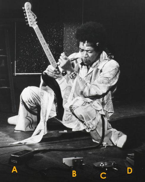 Jimi Hendrix rig