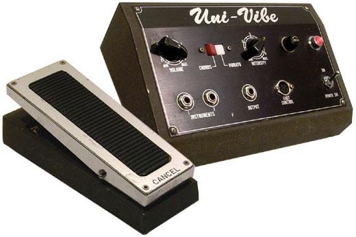 Uni-Vibe guitar effect pedal