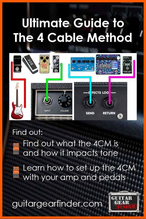 Guide to the 4 cable method