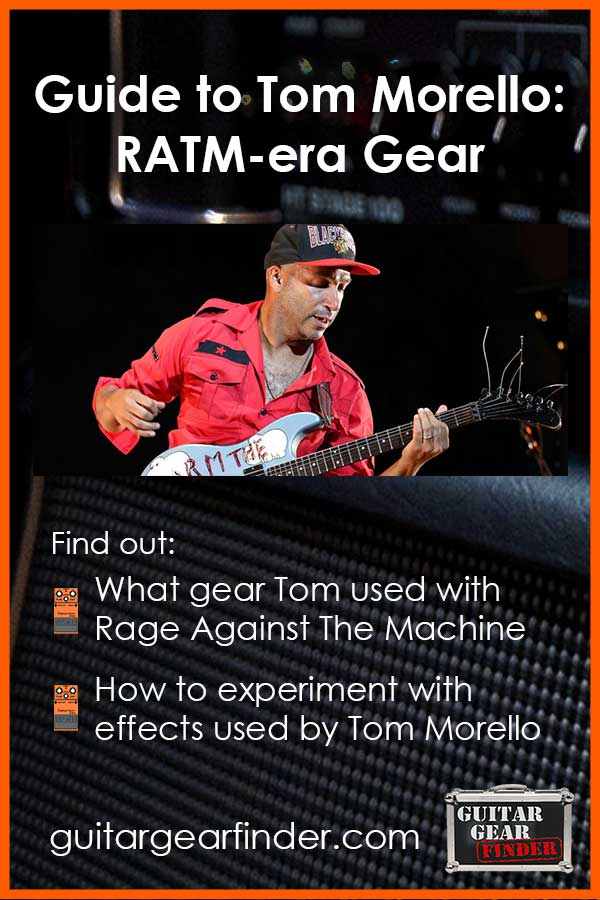 Tom Morello RATM Gear