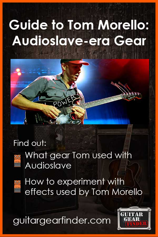 Tom Morello Audioslave Gear