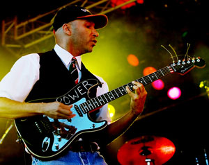 Tom Morello Soul Power Guitar in Audioslave