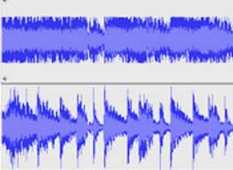 Compressed sound example