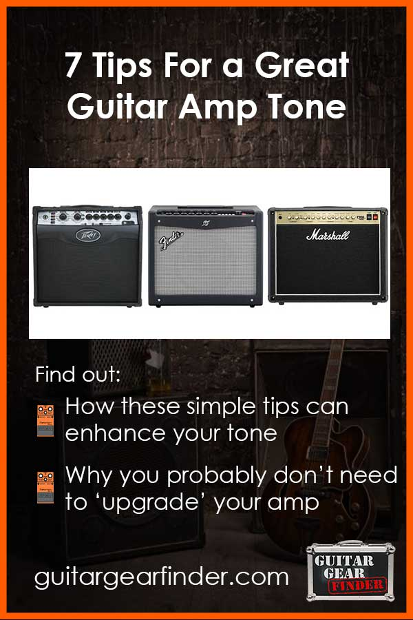 7 Guitar Amp Tips