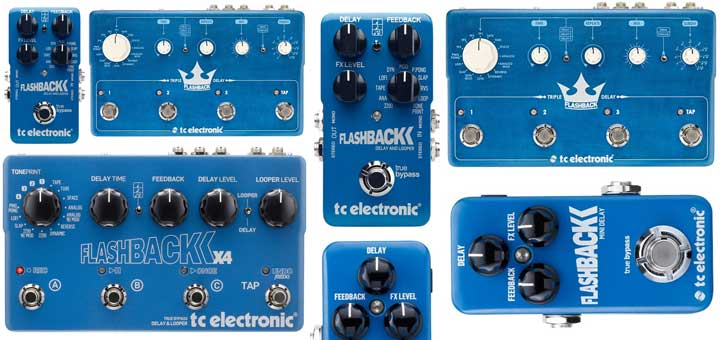 Comparing TC Electronic Flashback Delay Pedals