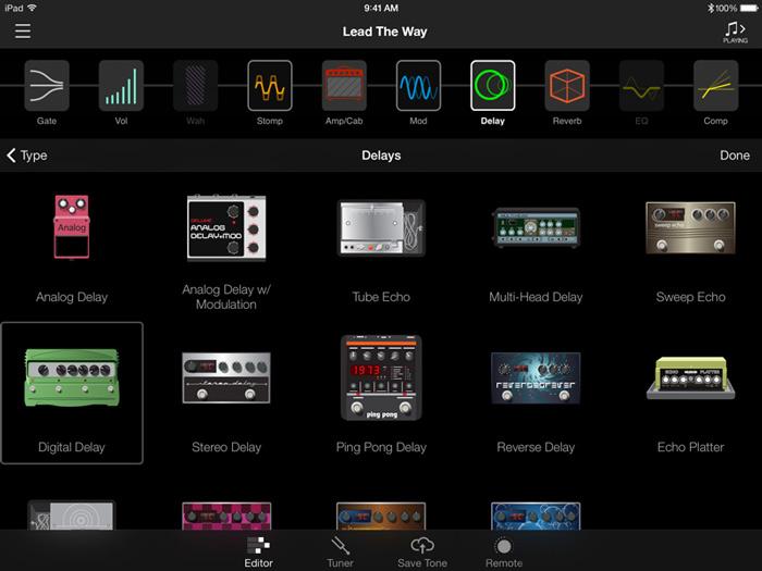 Line 6 AMPLIFi Remote App