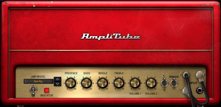 AmpliTube 4 amps