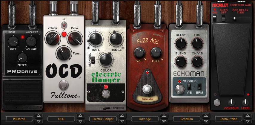 AmpliTube 4 pedals