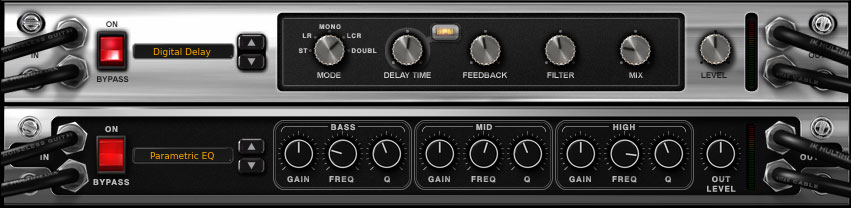 AmpliTube 4 Rack Settings