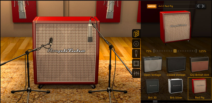 AmpliTube 4 Cab Room