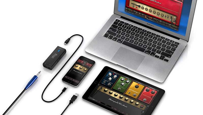 iRig HD 2 connections
