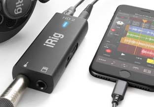 iRig HD 2 iOS