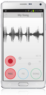 iRig Mic Studio on Android