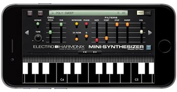 EHX Mini Synth app iPhone