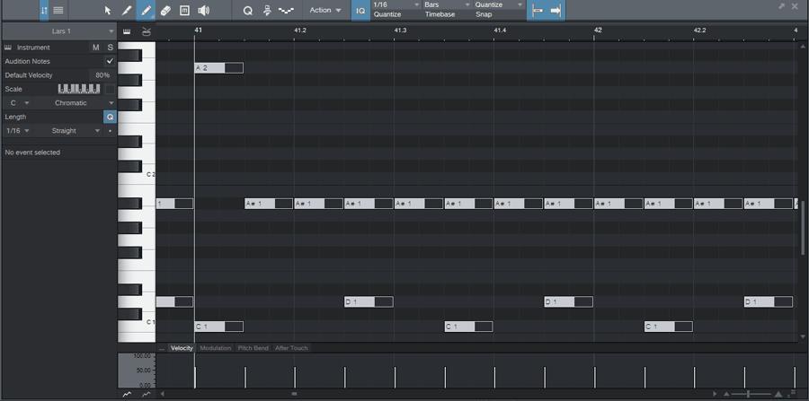 Editing drums in DAW