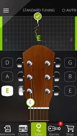 Guitar Tuna App