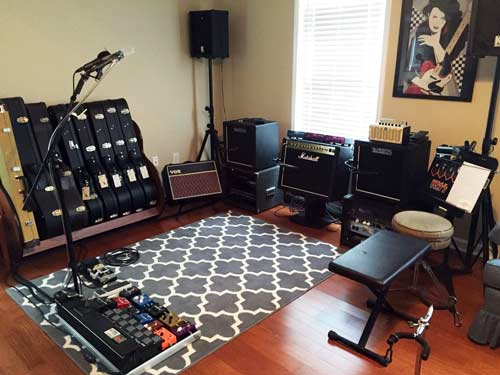 Setting Up An Ideal Guitar Practice Space Guitar Gear Finder