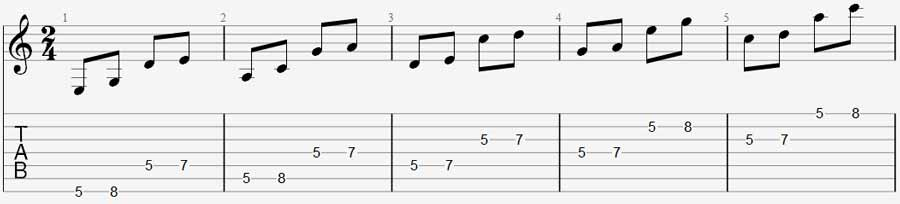 7 string exercise 2a