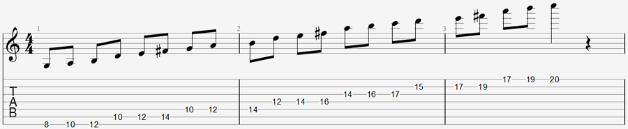 7 string exercise 4b