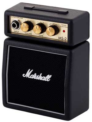 Mini guitar amp Marshall MS-2