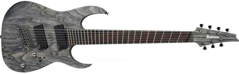 Ibanez 7 string with fanned frets