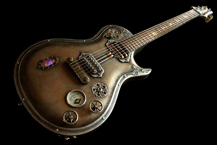 Steampunk guitar 2