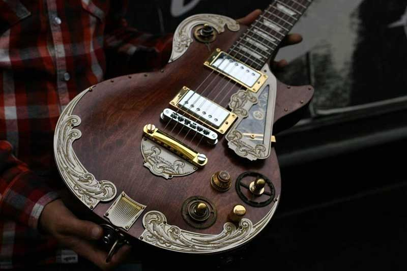 Steampunk guitar 3