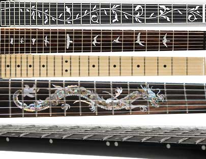 Guitar inlays