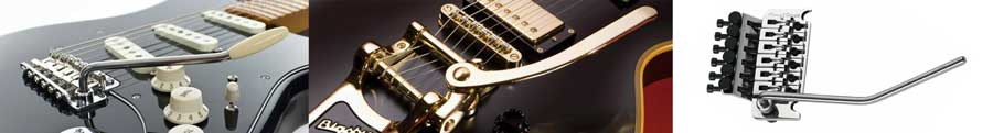 Guitar whammy bars