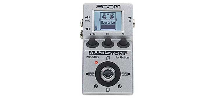 Zoom MS-50G Multistomp spotlight