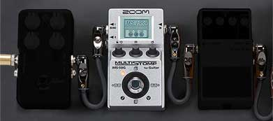 Zoom MultiStomp with pedals