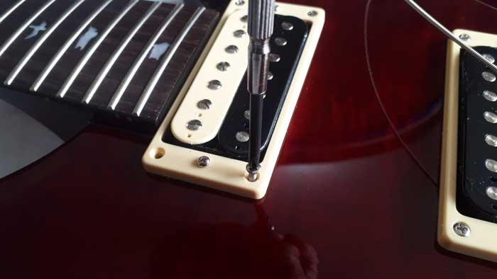 Unscrew pickup mount