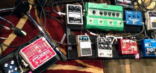 Guitar pedals to get first