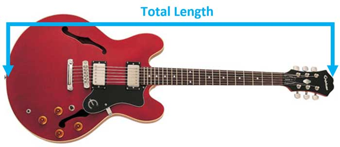 Guitar Total Length