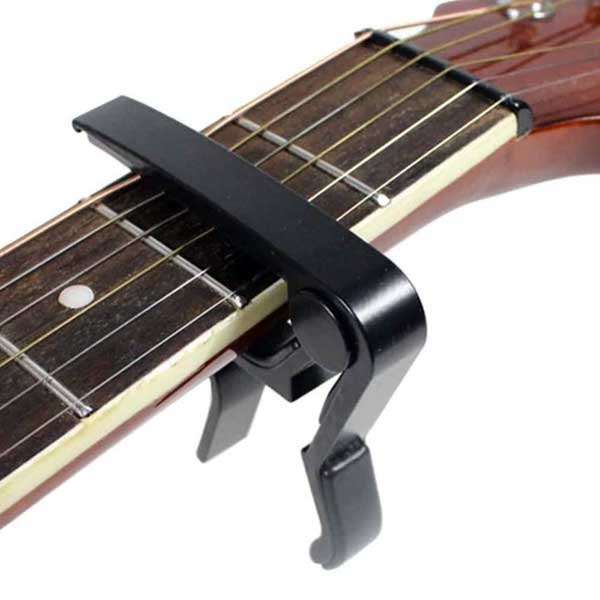 Clamp guitar capo