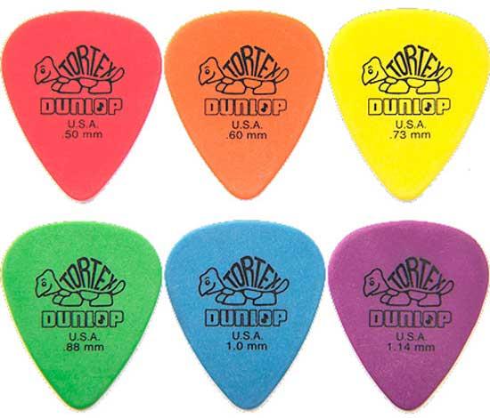Dunlop Tortex Variety Pack