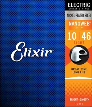 Elixir Nanoweb guitar strings