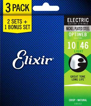 Elixir Optiweb guitar strings