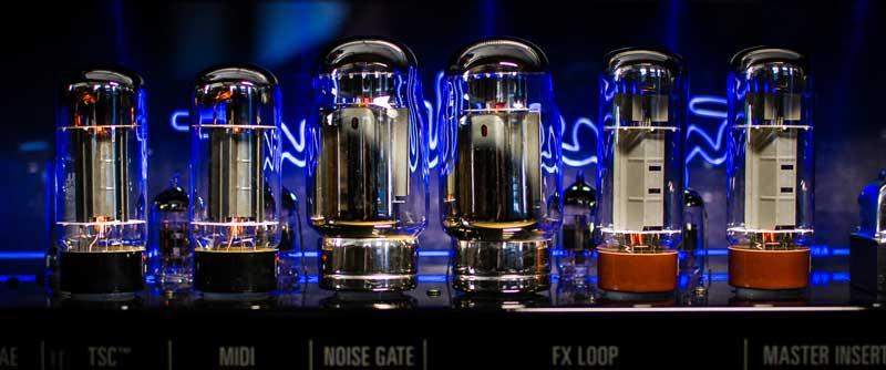 Guitar amp tubes back