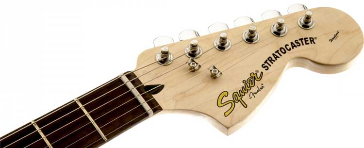 Squier Strat Headstock