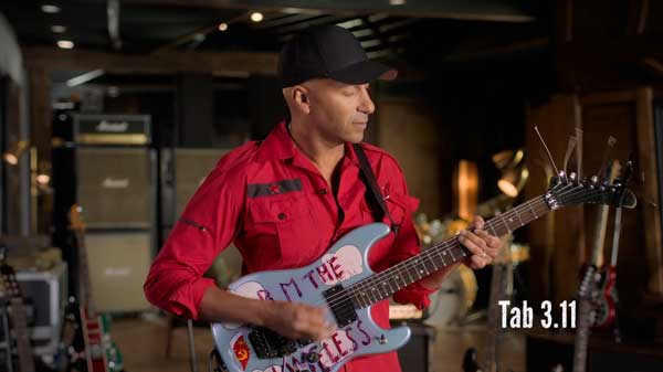 Tom Morello MasterClass electric guitar