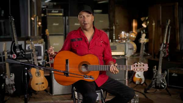 Tom Morello MasterClass acoustic