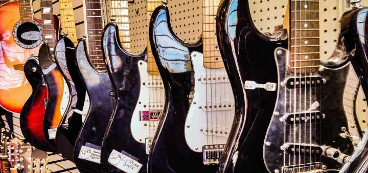 Buying used electric guitars